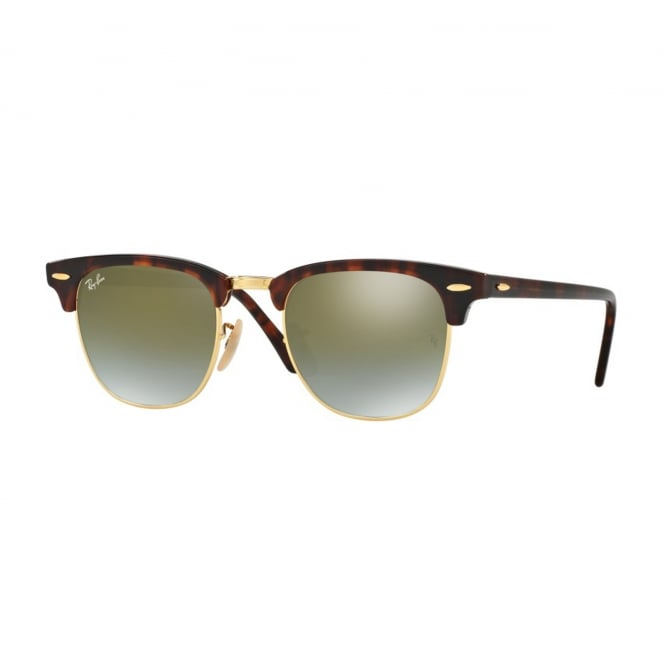 Ray Ban Sunglasses Clubmaster 0RB3016 990/9J 51 Gradient Sunglasses