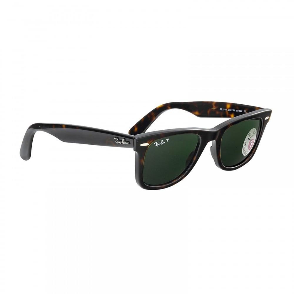 144f125d7a Original Wayfarer 0RB2140 902 58 50 Polarised Sunglasses