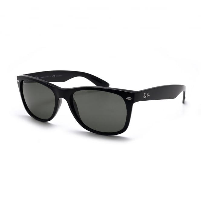 Ray Ban Sunglasses Ray Ban New Wayfarer 0RB2132 901L 55 Black Sunglasses