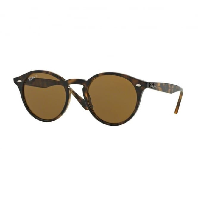 Ray Ban Sunglasses Round 0RB2180 710/83 49 Polarised Sunglasses