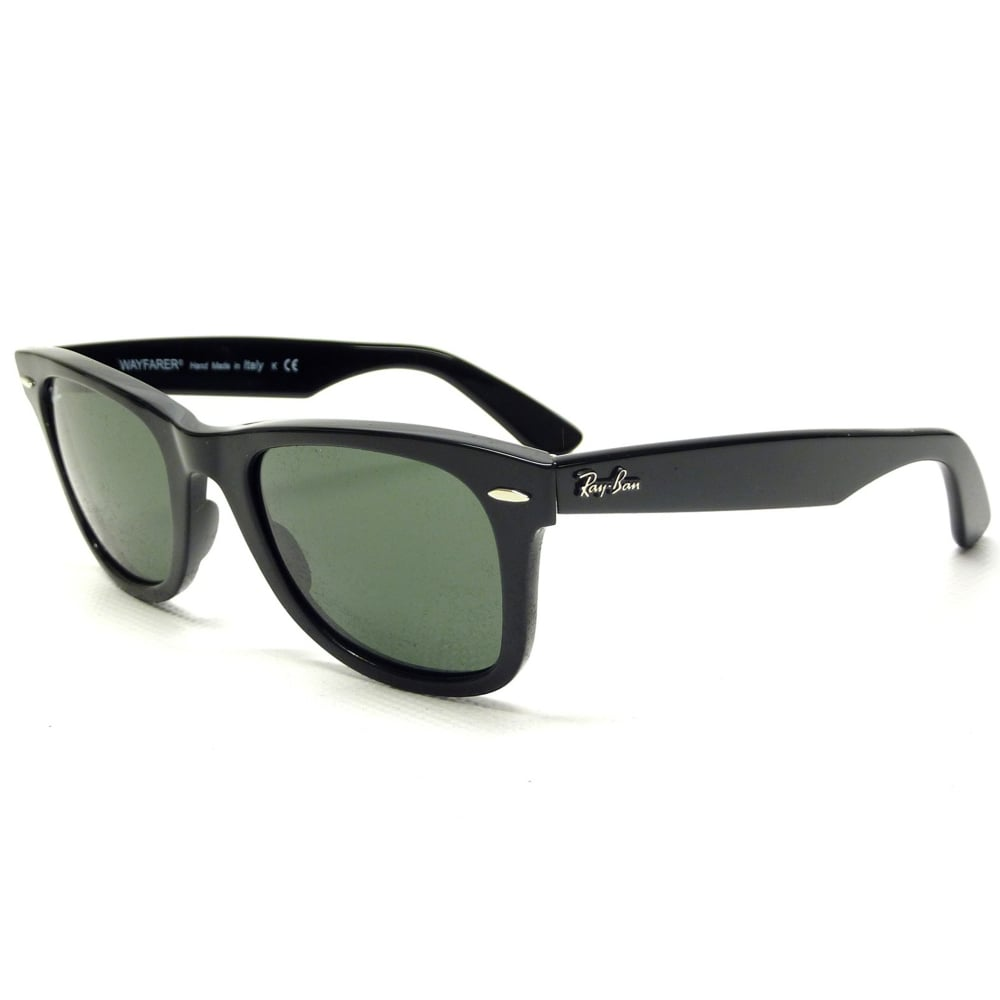 334465945f2 Wayfarer 0RB2140 901 54 Black Sunglasses