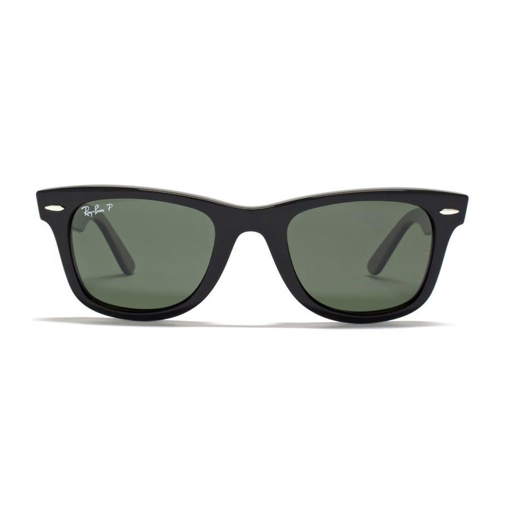 c371cc84dd Ray Ban Sunglasses Ray Ban Sunglasses Wayfarer 0RB2140 901 58 50 Black  Polarized Sunglasses