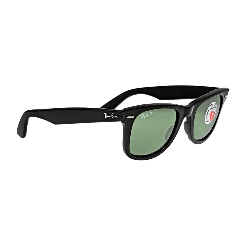 aef701873d Wayfarer 0RB2140 901 58 50 Black Polarized sunglasses