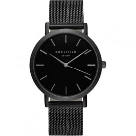 Rosefield MBB-M43 Mercer Black Mesh Women's Watch