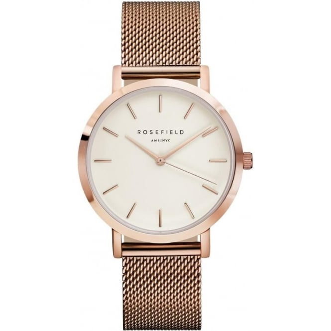 Rosefield MWR-M42 Rosefield The Mercer Rose gold Ladies Watch