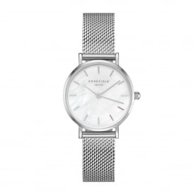 26WS-266 The Small Edit Silver Mesh Ladies Watch