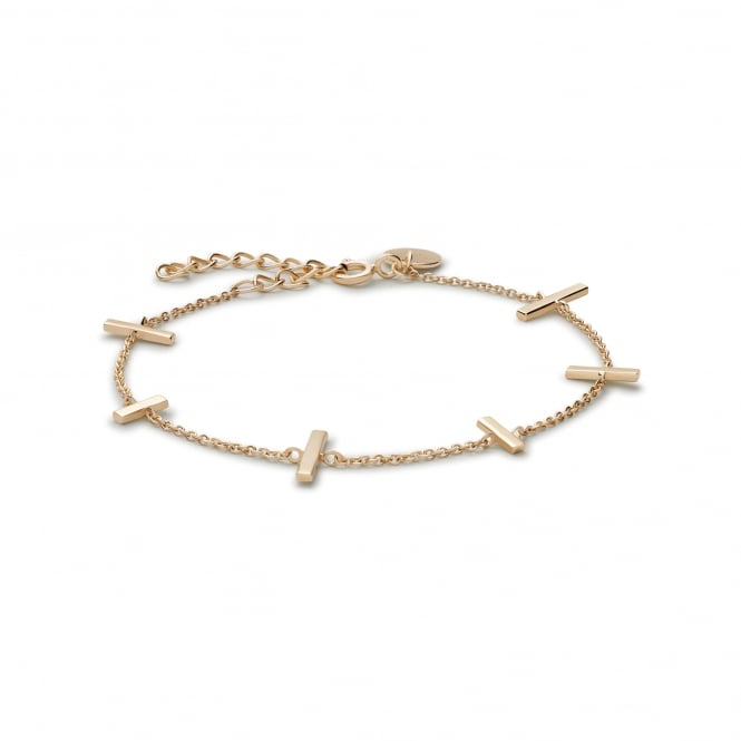 Rosefield JMUG-J005 The Mulberry Gold Sterling Silver Bracelet
