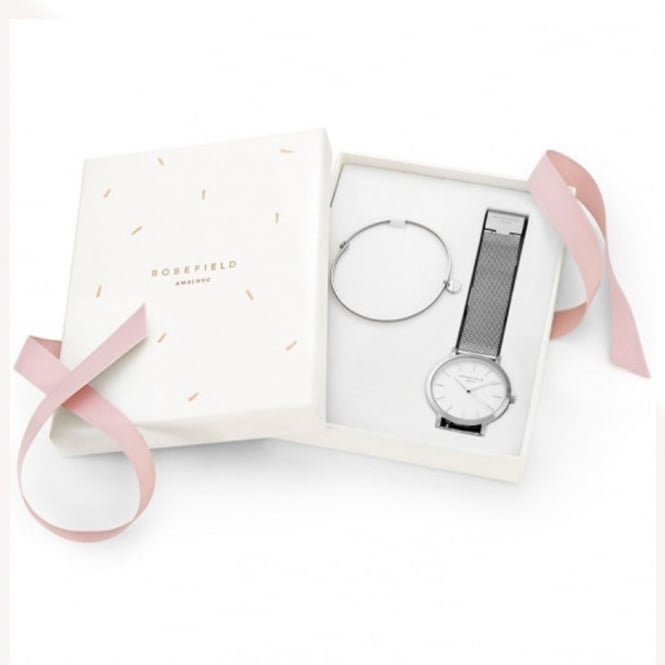 Rosefield Rosefield MSWS-X172 The Mercer Silver Gift Set