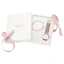 Rosefield TRWR-X173 The Tribeca Rose Gold Gift Set