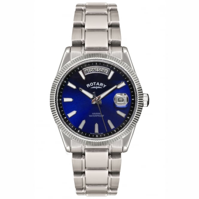 Rotary GB02660/05 Havana Men's Stainless Steel Watch