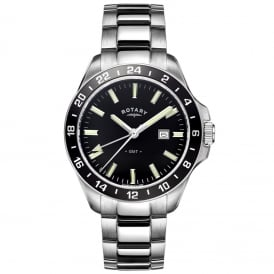 GB05017/04 Men's GMT Stainless Steel Watch