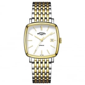 GB05306/01 Windsor Men's Gold & Silver Watch