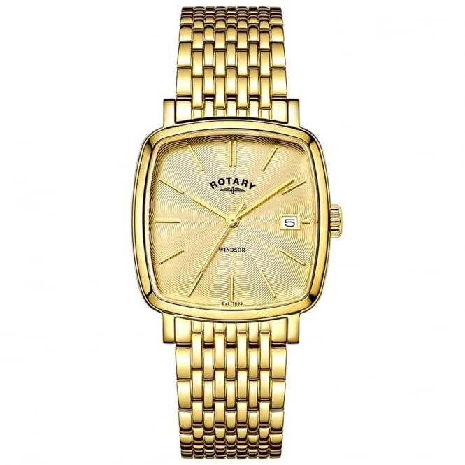 Rotary GB05308/03 Windsor Men's Gold Watch