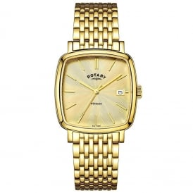 GB05308/03 Windsor Men's Gold Watch