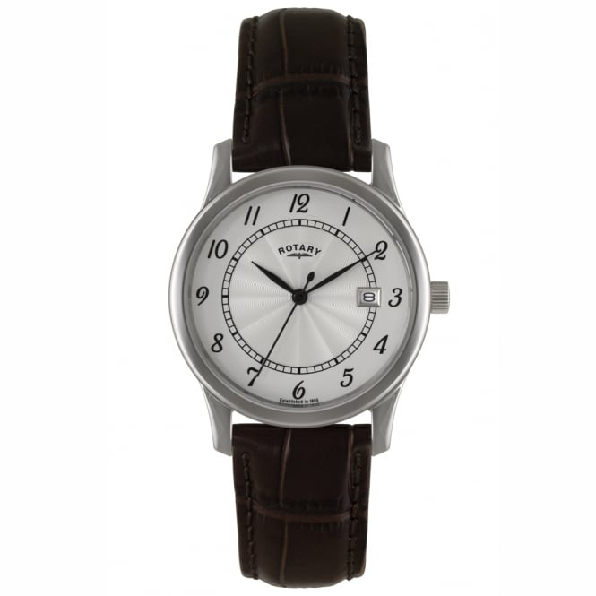 Rotary GS00792/22 Men's Brown Leather Watch