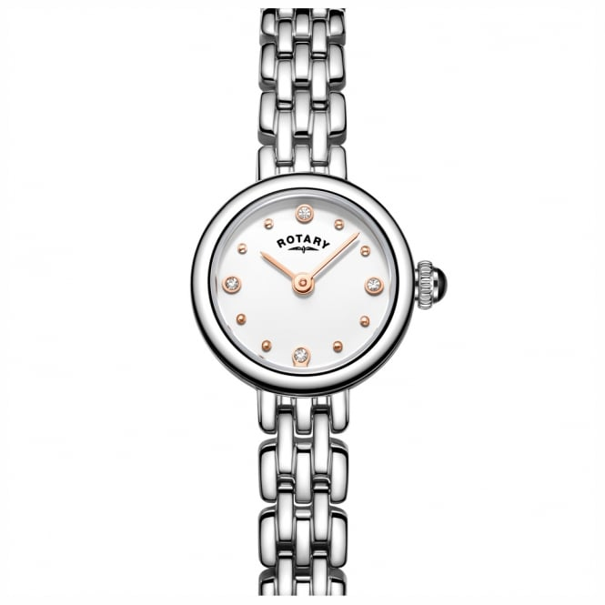 Rotary LB05052/02 Ladies Cocktail Stainless Steel Watch