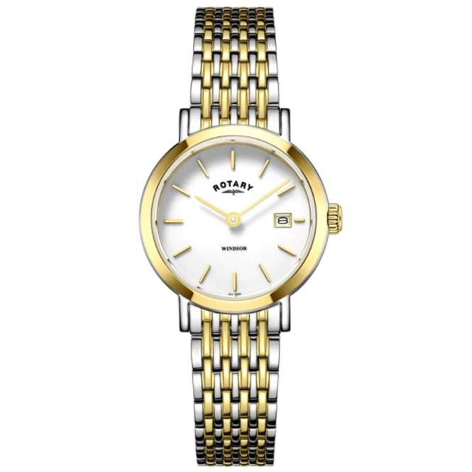 Rotary LB05301/01 Windsor Ladies Steel Watch
