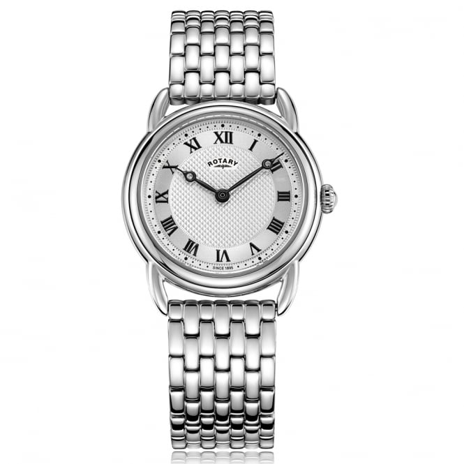 Rotary LB05335/21 Canterbury Silver Stainless Steel Ladies Watch