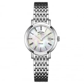 LB90153/07 Windsor Swiss Made Ladies Steel Watch