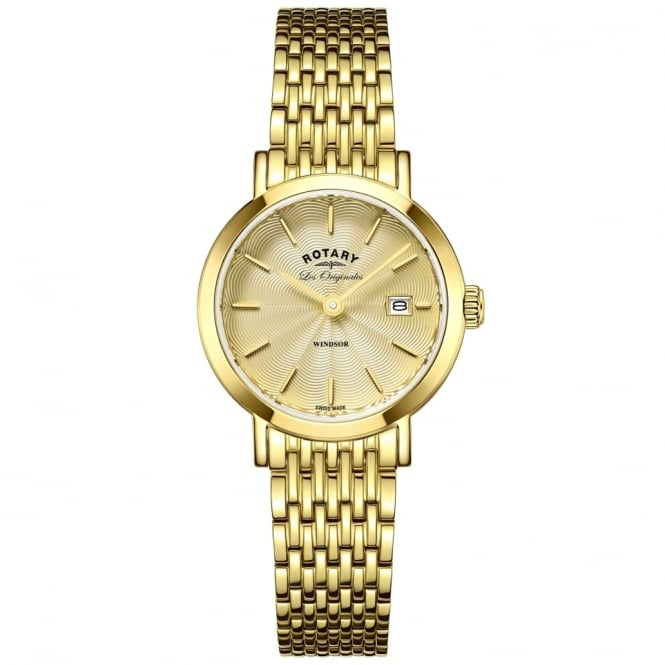 Rotary LB90156/03 Ladies Les Originales Gold Watch