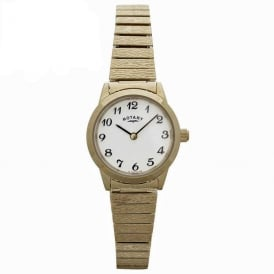 LBI00762 Ladies Expandable Bracelet Gold Watch