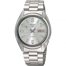 Seiko 5 SNXS73K1 Men's Silver Automatic Watch