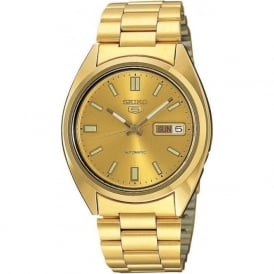 SNXS80K1 Men's Gold Automatic Watch