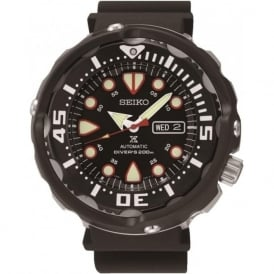 Seiko Prospex SRP655K1 Black Gent's Automatic Divers Watch