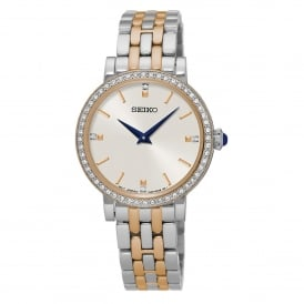 SFQ810P1 Swarovski Elements Two Tone Ladies Dress Watch