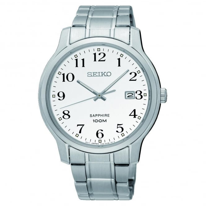 Seiko SGEH67P1 Silver Stainless Steel Men's Watch