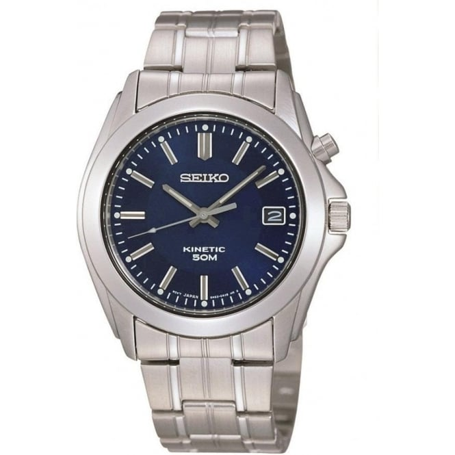 Seiko SKA267P1 Stainless Steel Kinetic Gents Watch