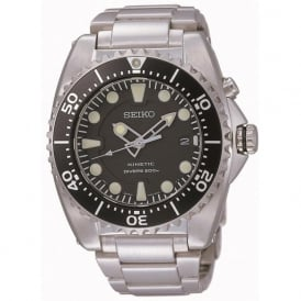 Seiko SKA371P1 Kinetic Stainless Steel Mens Divers Watch