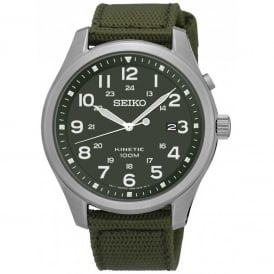 SKA725P1 Khaki Canvas Kinetic Men's Watch