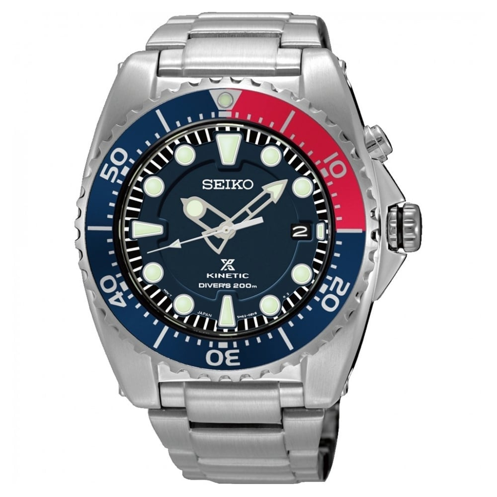 Seiko prospex ska759p1 kinetic diver 39 s men 39 s watch available at tic watches for Movado kinetic