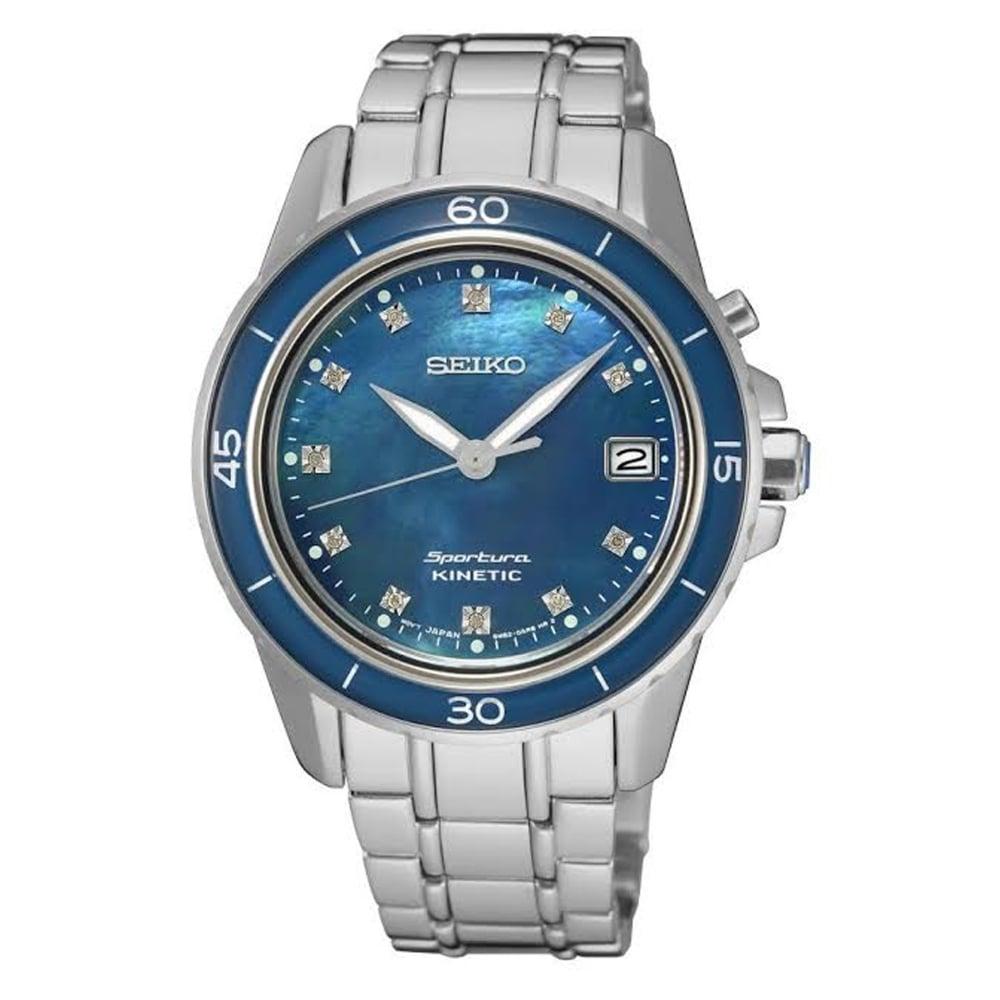 seiko ska873p1 sportura blue of pearl and silver