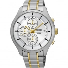 SKS541P1 Gold & Silver Stainless Steel Chronograph Men's Watch