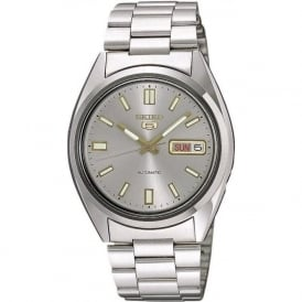 Seiko 5 SNXS75K1 Men's Silver Automatic Watch