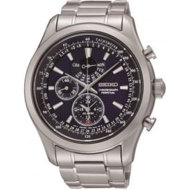 Seiko SPC125P1 Stainless Steel Chronograph Gents Watch