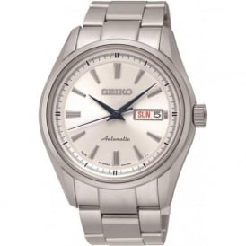 Seiko SRP527J1 Men's Presage White Dial Watch