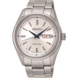 Seiko SRP527J1 Men's Presage White Dial Watch