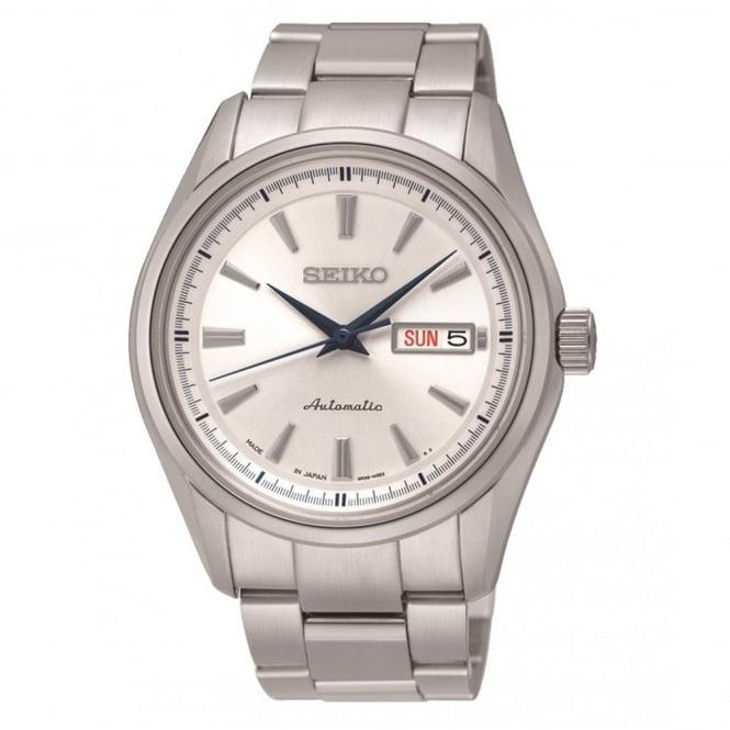 Seiko SRP527J1 White Dial & Stainless Steel Automatic Men's Watch