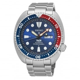 Seiko SRPA21K1 Prospex Padi Blue & Silver Stainless Steel Automatic Men's Watch