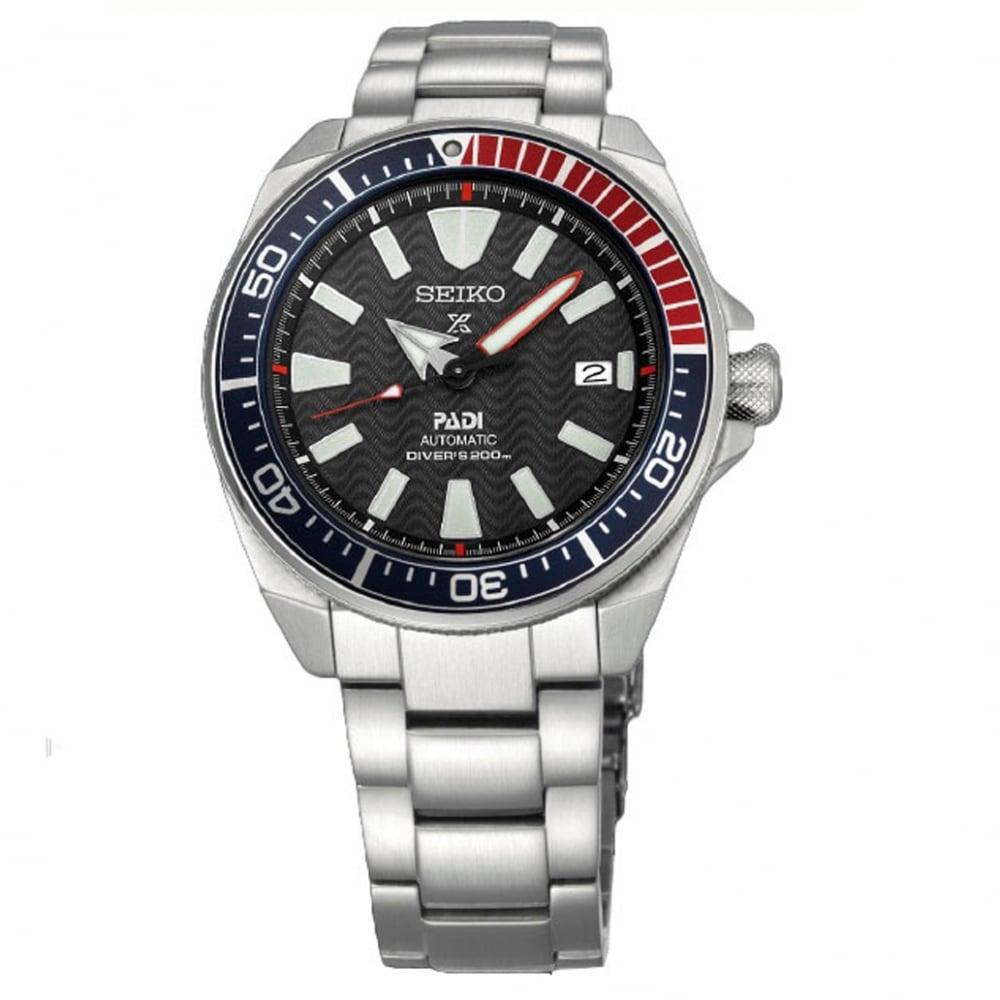 Buy the Seiko SRPB99K1 Prospex Automatic Diver PADI Men s Watch 3643b4c9fb