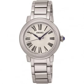 Seiko SRZ447P1 Silver Stainless Steel Ladies Watch