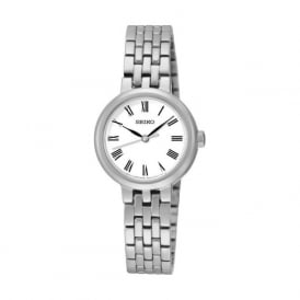 Seiko SRZ461P1 Silver Stainless Steel Women's Dress Watch