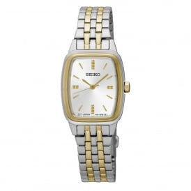 SRZ472P1 Rectangle Dial Two Tone Women's Watch