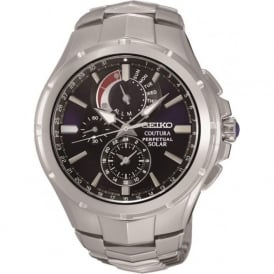 Seiko SSC375P9 Gent's Coutura Stainless Steel Solar Watch