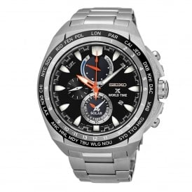 Seiko SSC487P1 Prospex Silver Stainless Steel Chronograph Solar Men's Watch