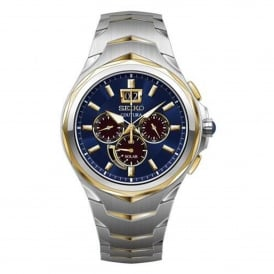 SSC642P1 Coutura Blue & Two Tone Stainless Steel Solar Men's Watch