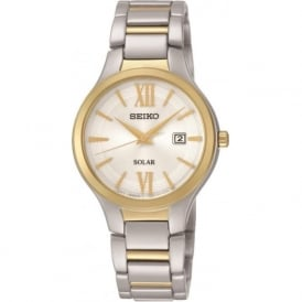 Seiko SUT210 Classic Solar Powered Ladies Watch